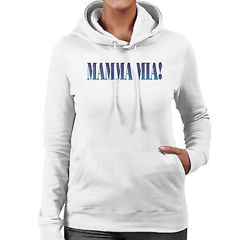 Mamma Mia Theatrical Logo Women's Hooded Sweatshirt