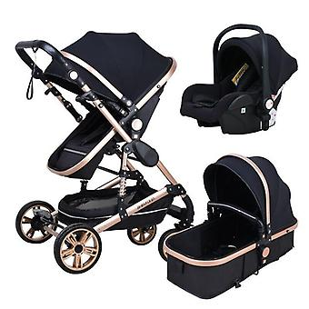 Stroller High Landscape Baby Stroller 3 In 1 With Car Seat