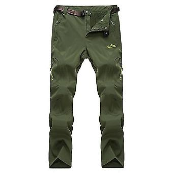 Men Stretch Hiking Pants Summer Quick Dry Trousers