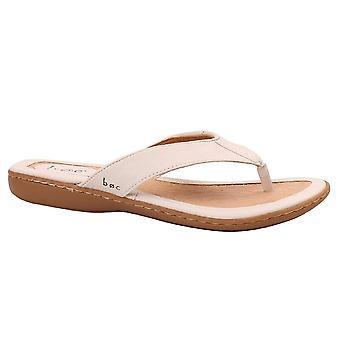 B. O. C Dámske ZITA Split Toe ležérne slide sandále