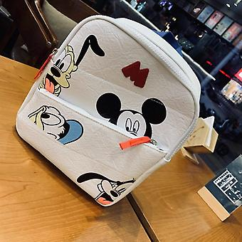 Children Toddler, Mickey Mouse Donald Duck Print Backpack,  Plush Bag