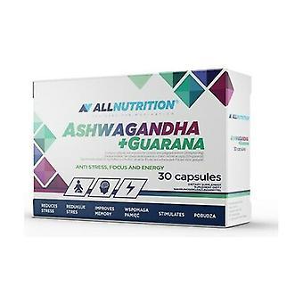 Ashwagandha + Guarana 30 capsules