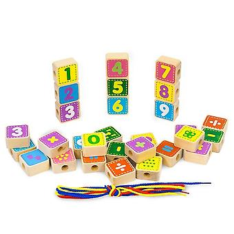"""Alatoys Wooden  constructor """"Lacing"""""""""""