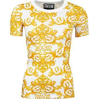 Versace Jeans Couture Klassisk All Over Print T-skjorte