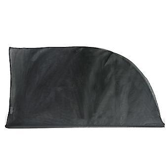 2Pcs adjustable car window sun shades uv protection shield mesh cover visor sunshades