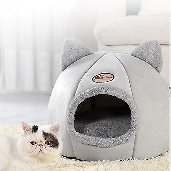 Pet Bed Cave House For Cat, Litter Mat, Pets Home kiegészítők, Pour Chat Macskák