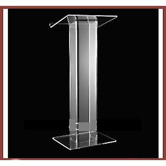 Transparent Acrylic School Lectern / Acrylic Platform / Church Rostrum /