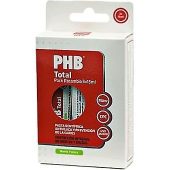 PHB Podróżna pasta do zębów 3 szt. 15 ml