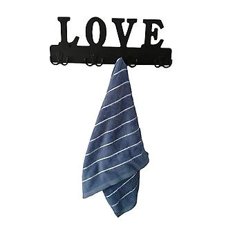 Wall Hangers Lover Letters Clothes Rack Holder