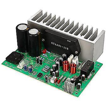 Stk401 audio amplifier board hifi 2.0 channel 140w2 power amplifier board ac24-28v home audio beyond 7294/3888 t0342