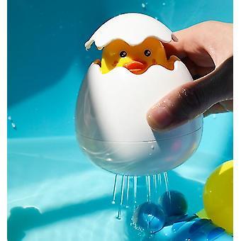Kylpy lelu sataa pilvi ankka muna 'kylpyhuone suihku vauvan vesi