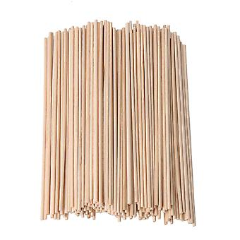 200piece 2.2mm Dia 148mm Length Round WoodenSticks for Building Model