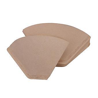 40 x U forma 164mm ancho filtro de café 2-4 taza para cafetera #2
