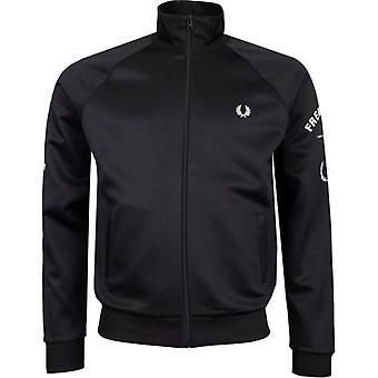 Fred Perry Authentics Bold Branding Track Top