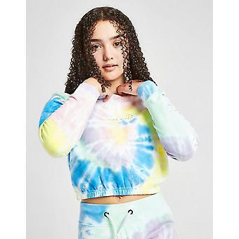 New Sonneti Girls' Tie Dye Crop Hoodie Multi