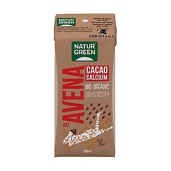 Havregryn kakao kalciumdryck 200 ml