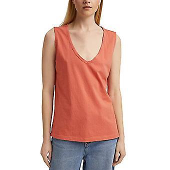 edc de Esprit 041CC1K303 Camiseta, 645/Coral, Mujer Mediana