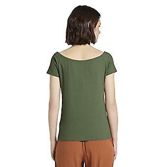 Tom Tailor Carmen T-Shirt, 22517/Olive Green, L Donna