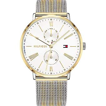 Tommy Hilfiger Multi-Quadrant Quarz Armbanduhr Damen mit Edelstahlarmband 1782074