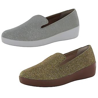 Fitflop Donna Audrey Glitzy Slip Su Loafer Shoes