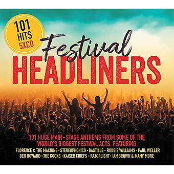 101 HITS Festival Headliners CD