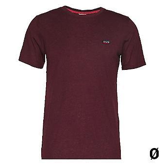 Miesten lyhythihainen t-paita Jack & Jones MEL Maroon