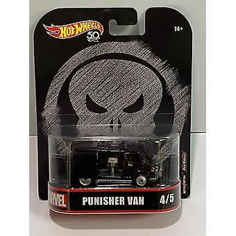 Hot Hjul 50th Punisher Van FLD29