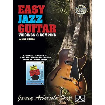 Easy Jazz Guitar With 2 Free Audio CDs  Voicings and Comping by Mike Di Liddo