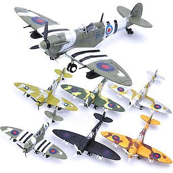 Fighter Model Building Tool Sets Aircraft War-ii Spitfire