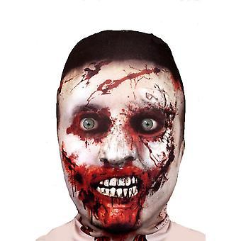 FACE SKINZ - 3D EFFECT ZOMBIE FACE Lycra Face Mask