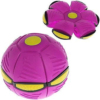 Magic Ufo Ball , Outdoor Parent-child Game Ball(Rose Red)