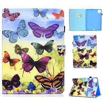 Case For Ipad Pro 11 2021 Cover With Auto Sleep/wake Pattern Magnetic - Colorful Butterfly