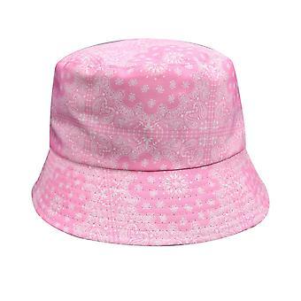 الكاجو الزهور طباعة boonie دلو قبعة كاب حافة الشمس في الهواء الطلق رحلات السفاري الصيد