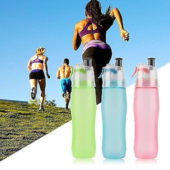 740ml Wasser Trinken Nebel Spray Sport Gym Cool Outdoor Fashion Flasche