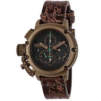 U-Båt 8526 Chimera Kronograf Limited Edition Green & Bronze Mens Watch