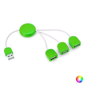 USB-hub-143899 med tre porte