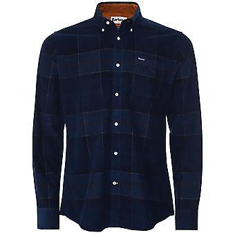 Barbour Tailored Fit Corduroy Tartan Blair Shirt