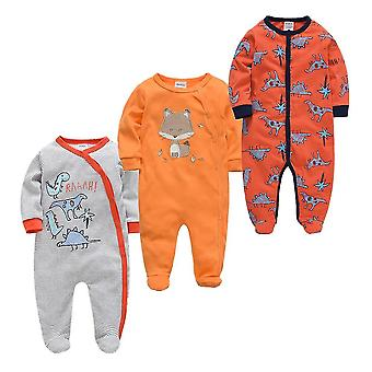 Novorozené dětské pyžamo - Infantilní župan s plným rukávem