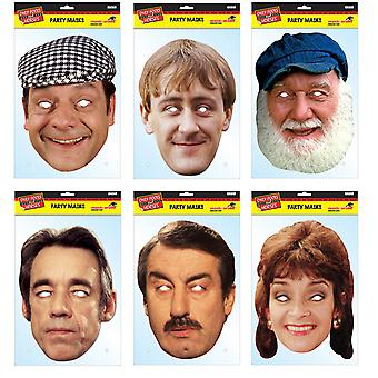 Only Fools and Horses Official 2D Card Party Fancy Dress Masks Variety 6 Pack