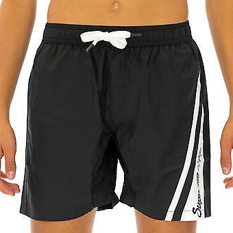 Supreme Grip Homme Boxer Swimshorts Katana Cuisse longueur Noir