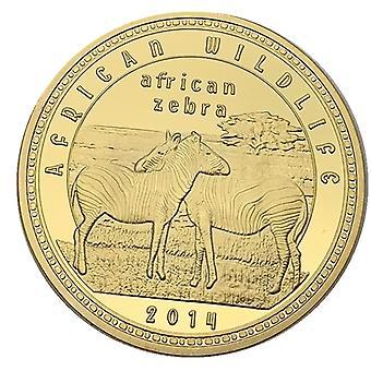 Afrikkalainen sambialainen eläinkultakoli Juhlakolikokoelma Villi kultakolikoli Ulkomainen muistomitali