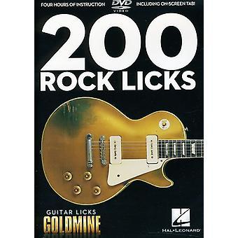 Guitar Licks Goldmin-200 Rock Licks [DVD] USA import