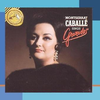 カバリエ - モントセラト Caball 歌うグラナドス [CD] USA 輸入
