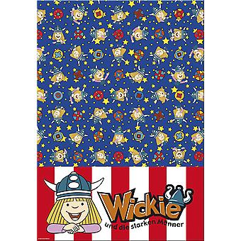 Wickie comic Viking children's party tablecloth 130 x 180 children's birthday