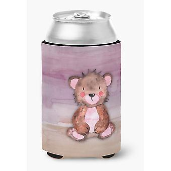 Carolines Treasures  BB7441CC Bear Cub Watercolor Can or Bottle Hugger