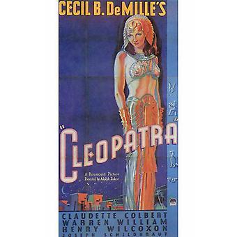 Locandina del film Cleopatra (11 x 17)
