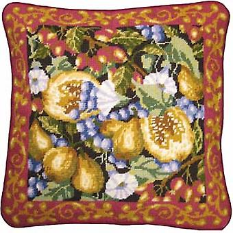 Harvest of Fruits Needlepoint Kit