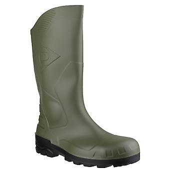 Bottes Dunlop Devon unisexe vert sécurité
