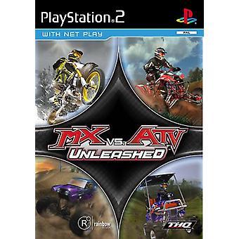 MX vs. ATV Unleashed (PS2)-fabriken förseglad