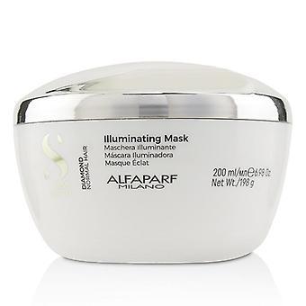Alfaparf Semi Di Lino Diamond Illuminating Mask (capelli normali) - 200ml/6.98oz